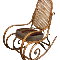 Design Within Reach Rocking Chair Lot Of Folding Chairs Upholstered Bentwood Chairish