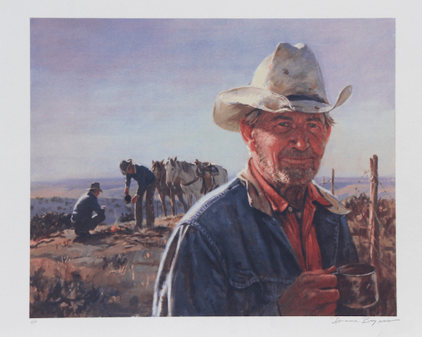 Duane Bryers Middle Of Nowhere Lithograph Chairish