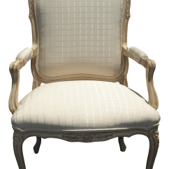 French Provincial Adele Occasional Chair Throne Chairs For Weddings Vintage Carved Wood Accent Chairish