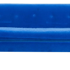 Royal Blue Velvet Chairs Chair Cover Rentals For 1.00 Modern Sofa Chairish