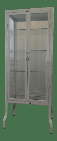 Restoration Hardware Pharmacy Bath Cabinet | Chairish