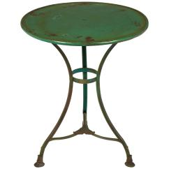 Green French Bistro Chairs Folding Lounge Chair Walmart Antique Hammered Iron Table Chairish