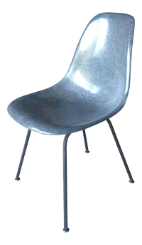 Eames for Herman Miller Mid-Century Grey Fiberglass Accent ...