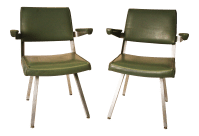 Harter Mid-Century Modern Industrial Office Chairs- A Pair ...