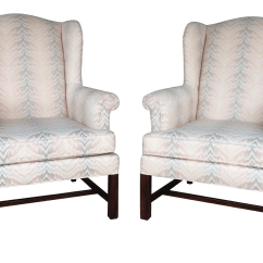 Traditional Wingback Chair Bean Bag Covers Only Drexel Classics Chippendale Style Wing Back