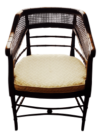 Vintage Chinese Chippendale Faux Bamboo Chair   Chairish