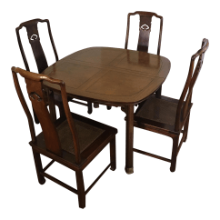 Henredon Chairs Dining Room Reclining Captains Table And Chairish