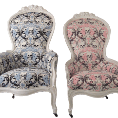 Skull Chair Wedding Covers In Sri Lanka King And Queen Victorian Chairs A Pair Chairish