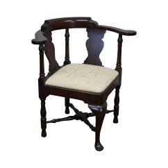Queen Anne Side Chairs Cherry Evenflo High Chair Recall Canada Statton Solid Style Corner Chairish