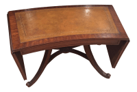 Antique Drop Leaf Coffee Table | Chairish