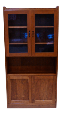 Mid-Century Modern Stickley Display Cabinet | Chairish