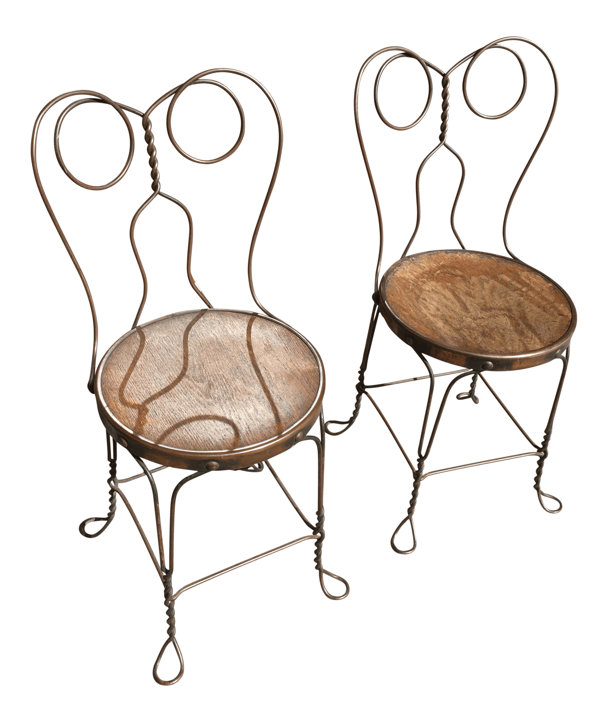 ice cream parlor chairs green kitchen chair cushions chicago wire company a