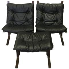 Black Leather Club Chair And Ottoman Bedroom Sofa Norgewian Westnofa Chairs