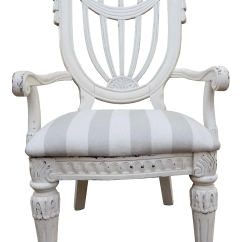 French Country Accent Chair Resin Wicker Chairs Lowes Style Chairish