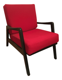 Vintage Mid-Century Lounge Chair | Chairish