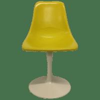 Saarinen-Style Fiberglass Tulip Chair | Chairish