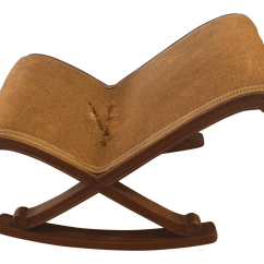 Horseshoe Rocking Chair Eileen Gray Antique Horse Hair Chairish
