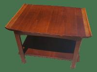 Lane Mid-Century Danish Walnut End Table | Chairish