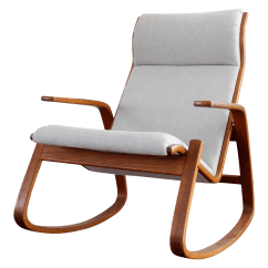 Danish Modern Rocking Chair Outdoor Lounge Westnofa Chairish
