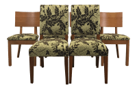 Arhaus Modern Traditional Dining Chairs - Set Of | Chairish