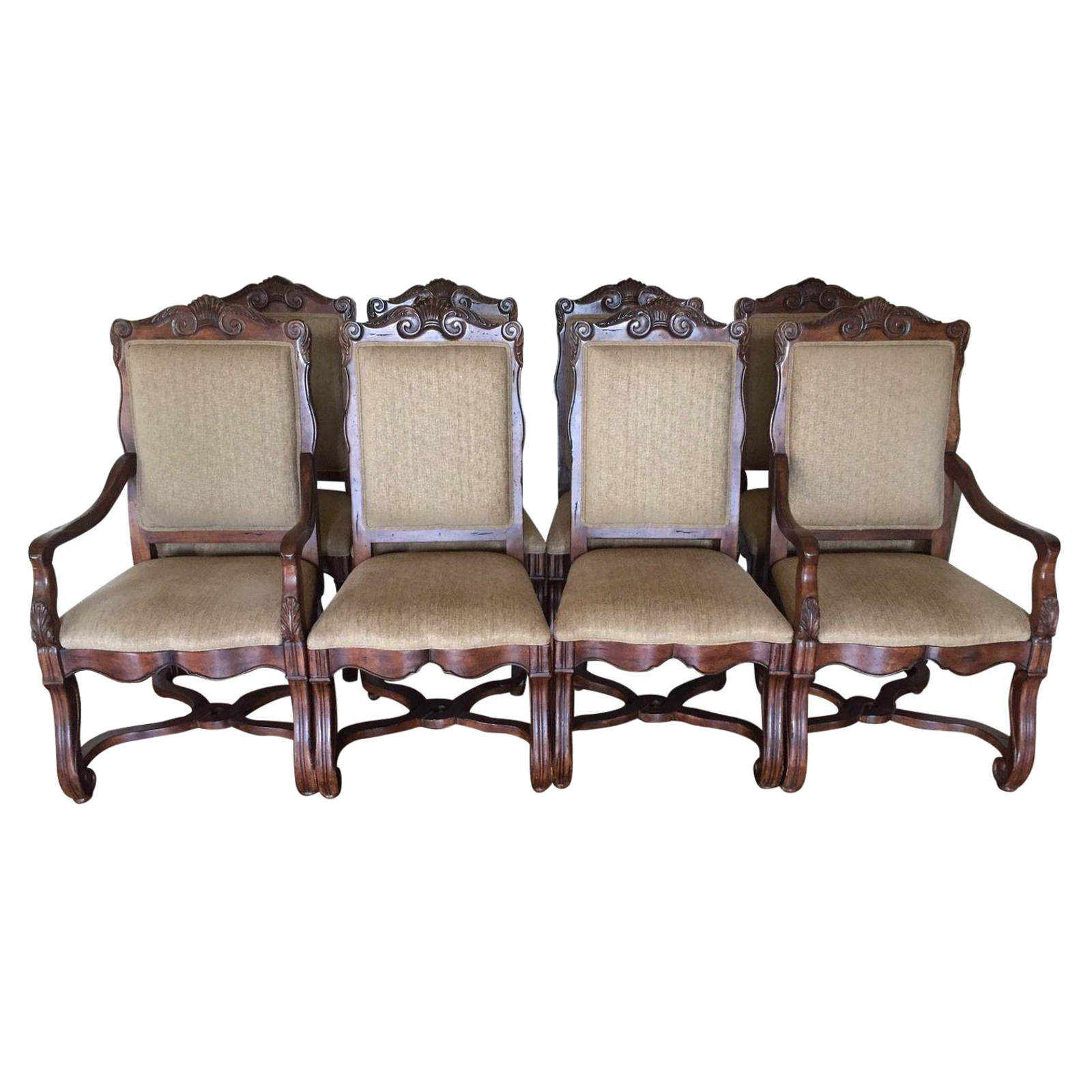 Country Dining Chairs Hekman Loire Valley French Country Dining Chairs Set Of