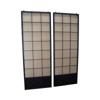 Vintage Japanese Shoji Sliding Doors - A Pair   Chairish