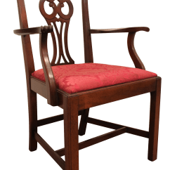Hickory Chair Co Outdoor Wrought Iron Cushions Mahogany Armchair Chairish