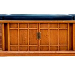 Best Sofa Bed Brands Friheten Gumtree Melbourne Motorola Drexel Cushion Top Stereo Bench | Chairish