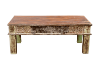 Architectural Indian Coffee Table | Chairish