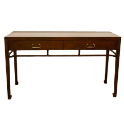 70 Inch Long Sofa Table Lilac Throws Walnut Console With Chinese Style Legs Chairish