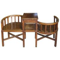 Tete-a-tete Courting Chair | Chairish