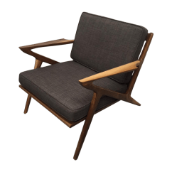 Z Chair Mid Century Hag Capisco Walnut Quotz Quot Chairish