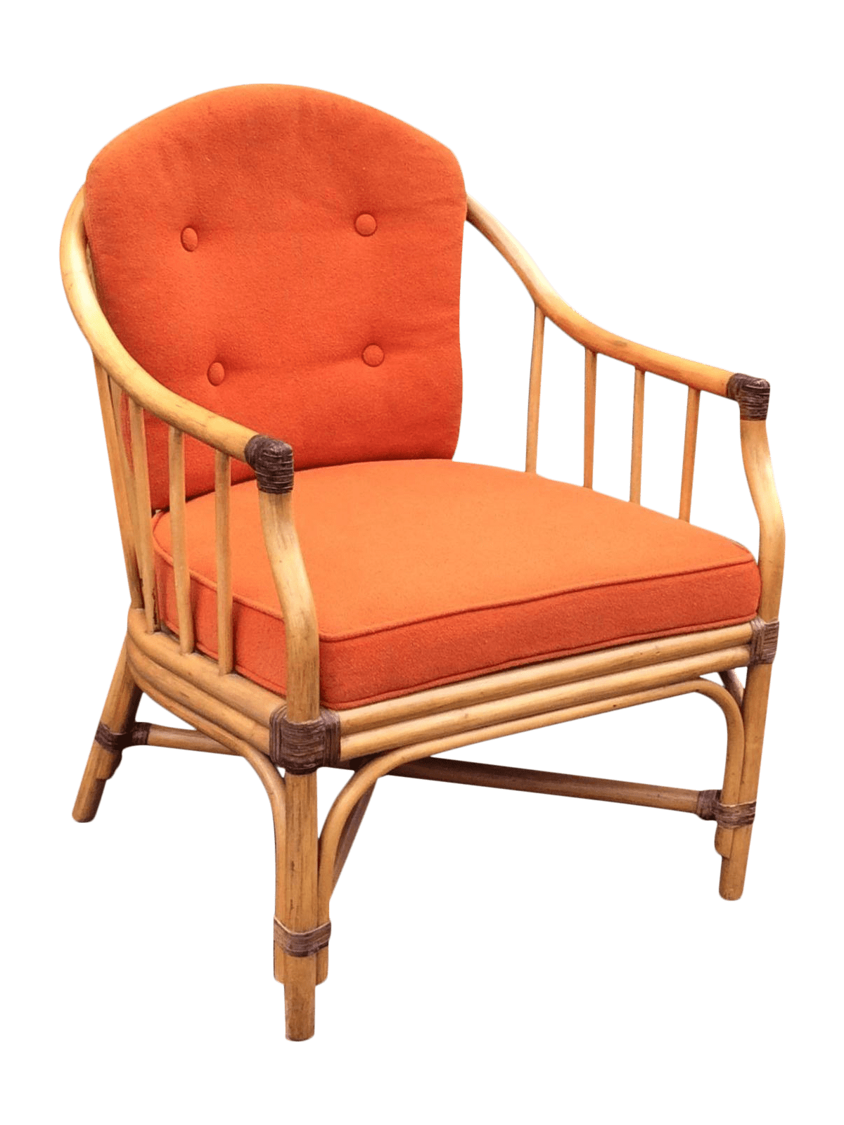 shelby williams chairs executive chair vintage bamboo lounge by inc chairish