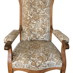 Bergere Dining Chairs Restaurant Wood Antique French Country Chair Chairish