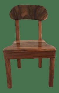 Hawaiian Monkey Pod Wood Chair