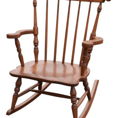 Child Sized Chairs Ergonomic Mesh Executive Chair With Headrest 17830 Vintage Size Colonial Wood Rocking Chairish