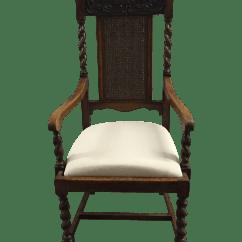Barley Twist Chair Beach Sun Shade Antique French Arm Chairish