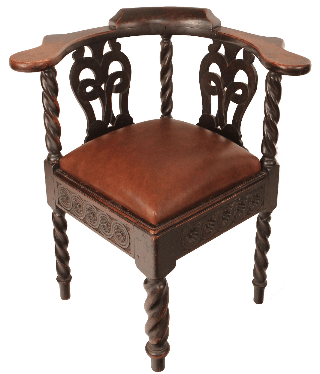 chippendale rocking chair stool drawing scottish carved corner chairish