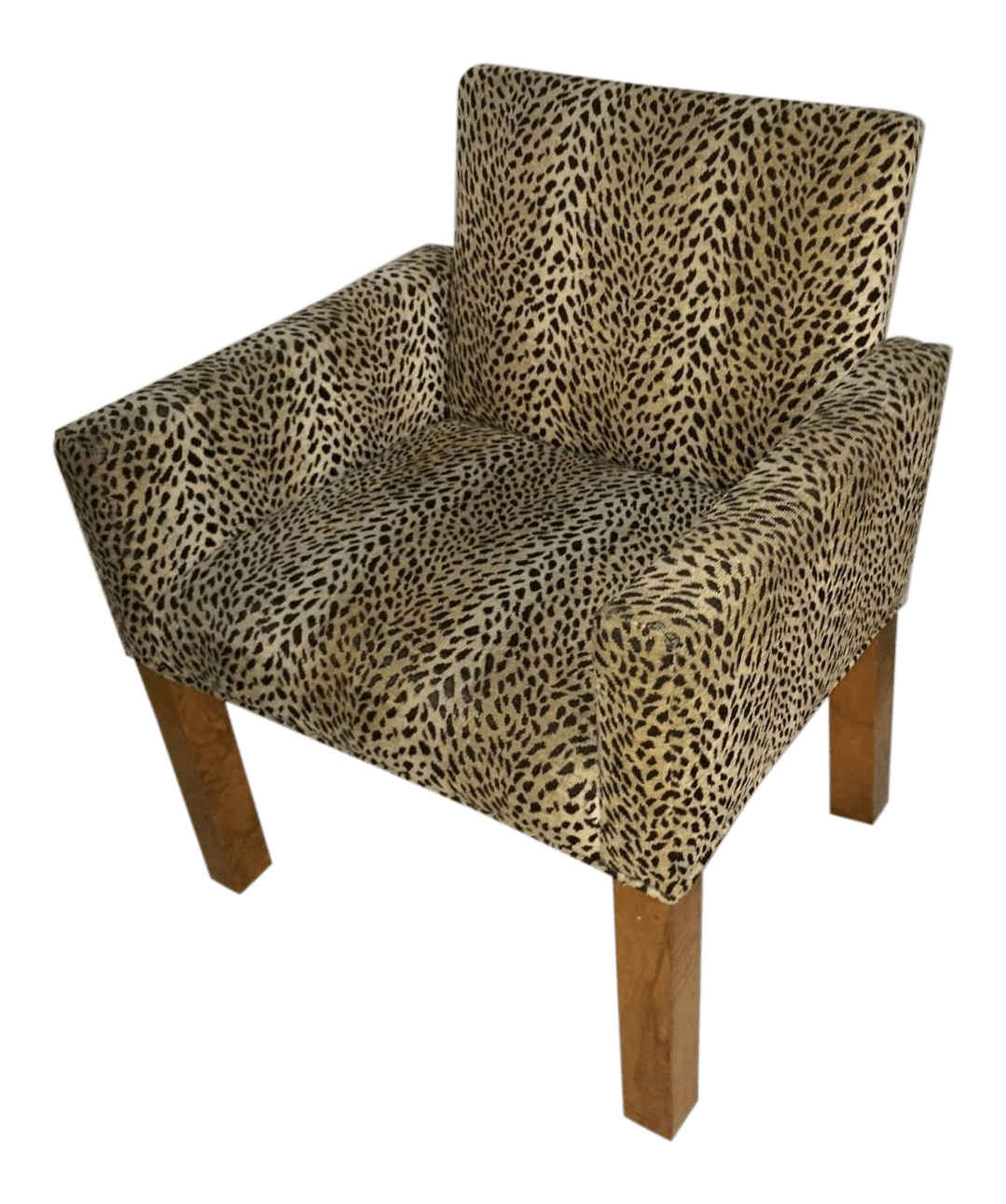 animal print accent chair outdoor wicker swivel leopard chairish