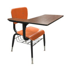Office Chair Png Baby Chairs Kmart Vintage Orange School Desk Chairish