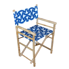 Bamboo Directors Chairs Comfortable Chair For Bedroom Director 39s Set Of 4 Chairish