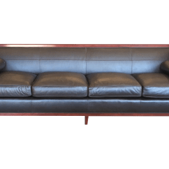 Baker Leather Sofas Mor Furniture Sofa Set Clic Club Room Chesterfield By