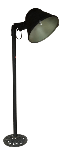 Oversized Industrial Floor Lamp | Chairish