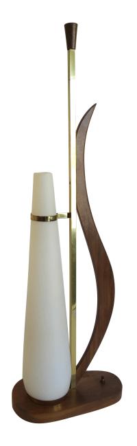 Mid-Century Modern Table Lamp | Chairish