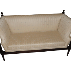 Sofa Frames For Upholstery French Provincial Sofas And Chairs Loveseat Rectangle Wood Frame Mcm 60s Fabric
