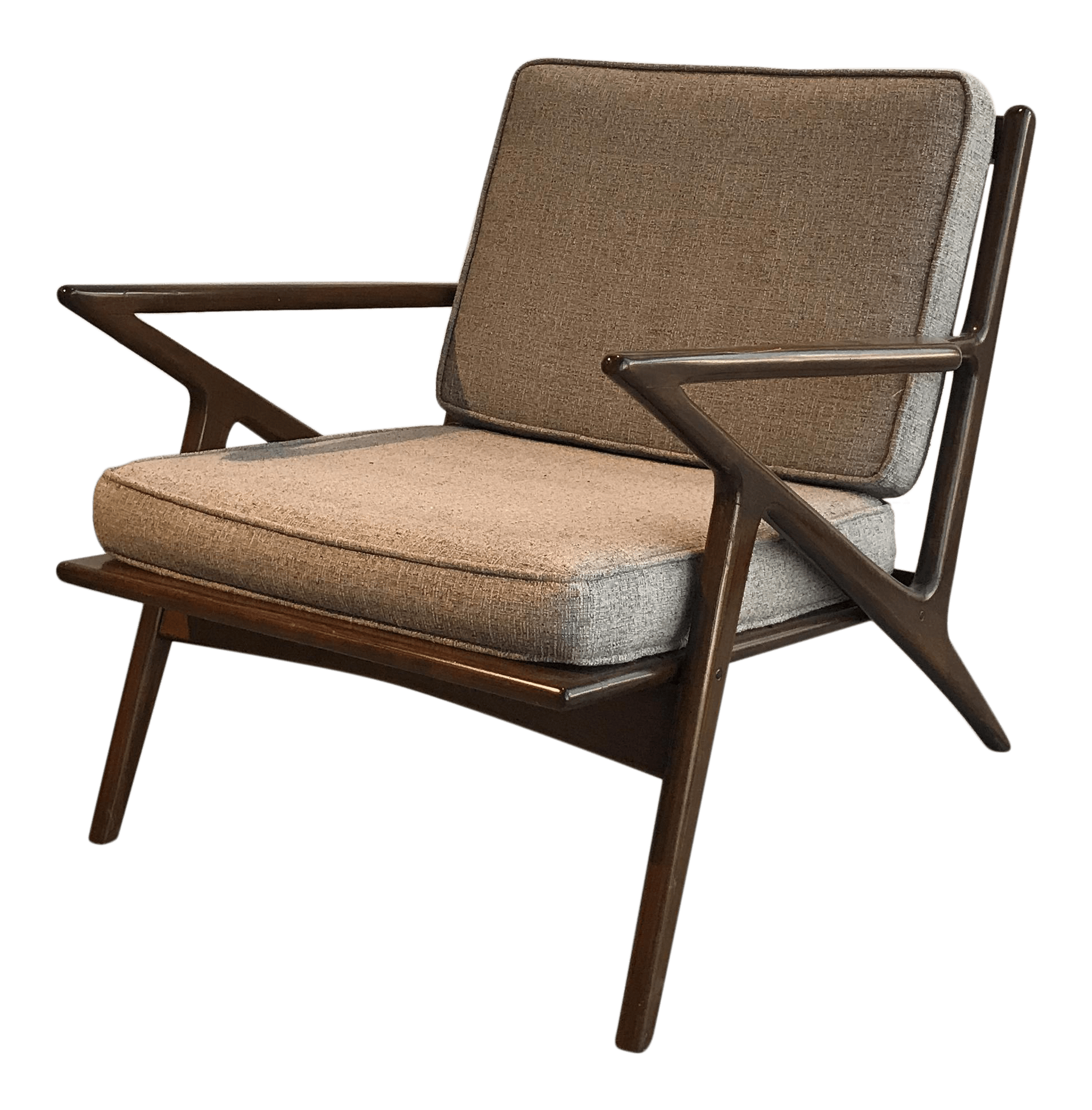 z chair mid century sling outdoor chairs 39z 39 chairish
