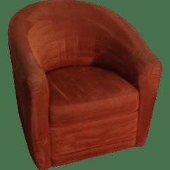 Natuzzi Swivel Chair Power Companies Club Chairish