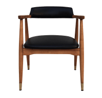 Mid-Century Modern Gunlocke Chair | Chairish