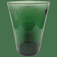 Chair Design Within Reach High Bag Transparent Green Venini Glass Vase | Chairish
