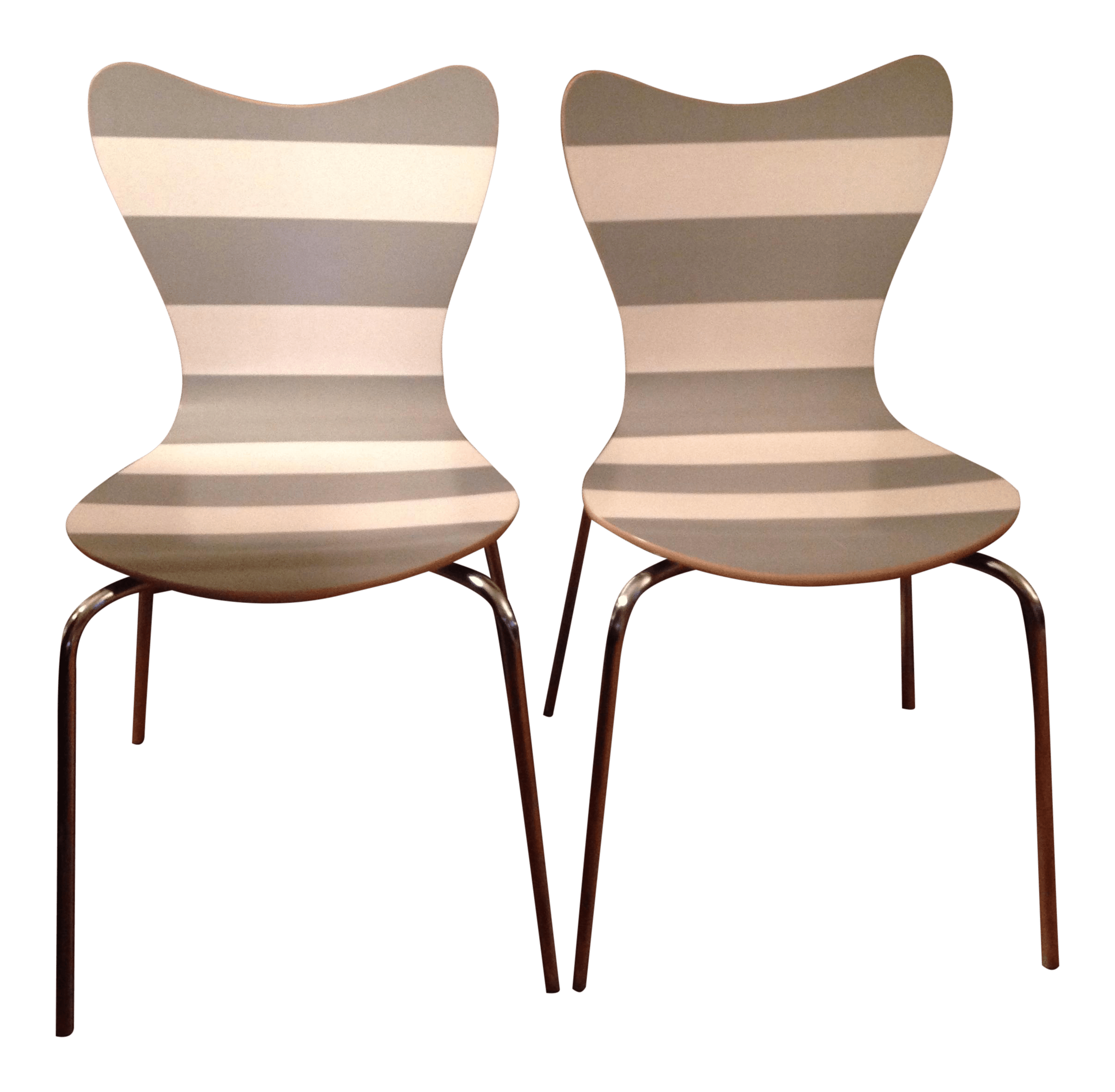 scoop back upholstered dining chairs recliner chair protector covers australia west elm a pair chairish